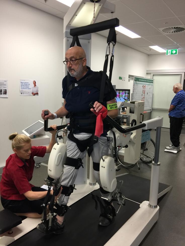 feb 21 at repat learning to walk again