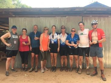 In Cambodia; Team Flinders